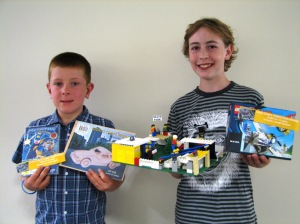 Carter and Jospeh also won prizes in the Lego competition