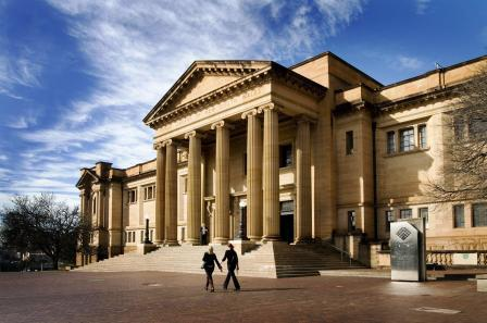 Oldest library in Australia: State Library of NSW