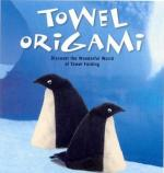 Towel origami book cover