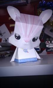 Cute little bunny...