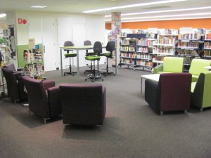 The new look, larger footprint, Youth Area!