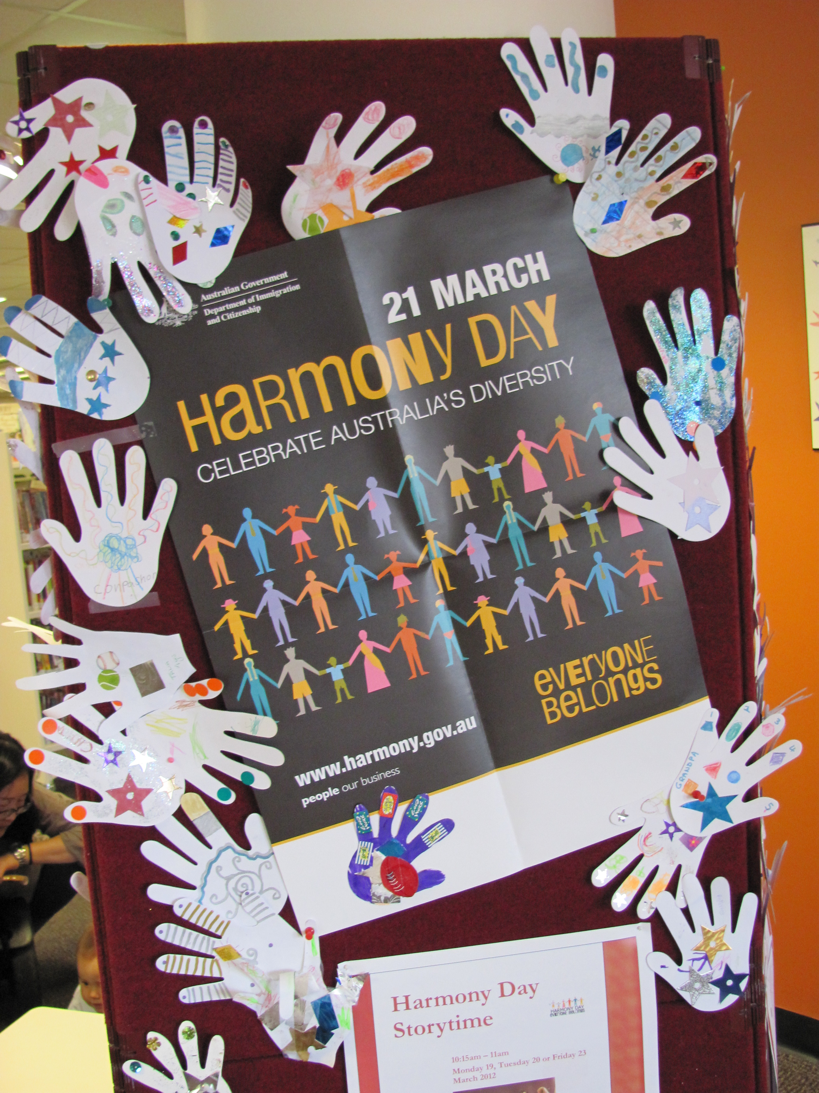 Harmony Day Off The Shelf pertaining to Art And Craft Ideas For Harmony Day