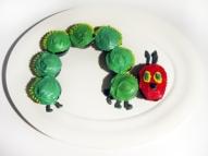 An edible 'Very Hungry Caterpillar'
