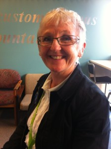 The lovely Linda, our latest work experience student at the Library.