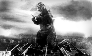 The original Godzilla from 1954.