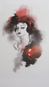 Straight from the book: a darker side to Snow White....