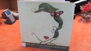The inspiration: 'The Art of the Disney Princesses'