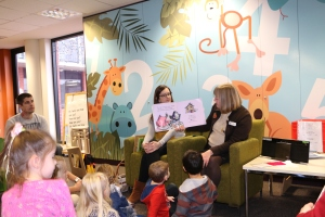 Story time at the Tea Tree Gully Library was one of the things Maegan enjoyed most.