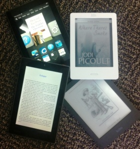 New Kindle and Kobo e-readers to come and try