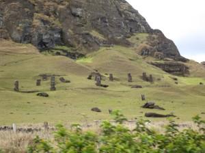 Helen Easter Island statues