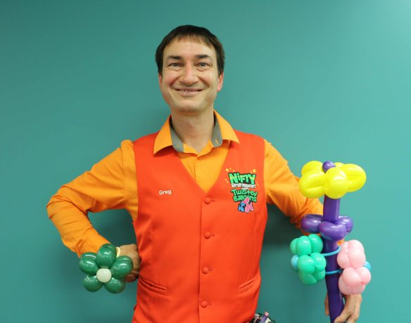 Mr Nifty the Balloon Man