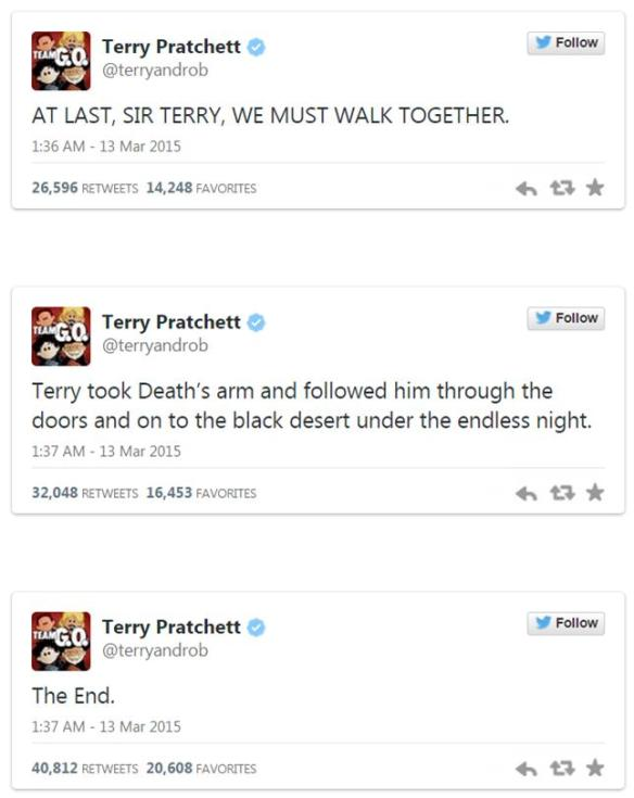 pratchett tweets