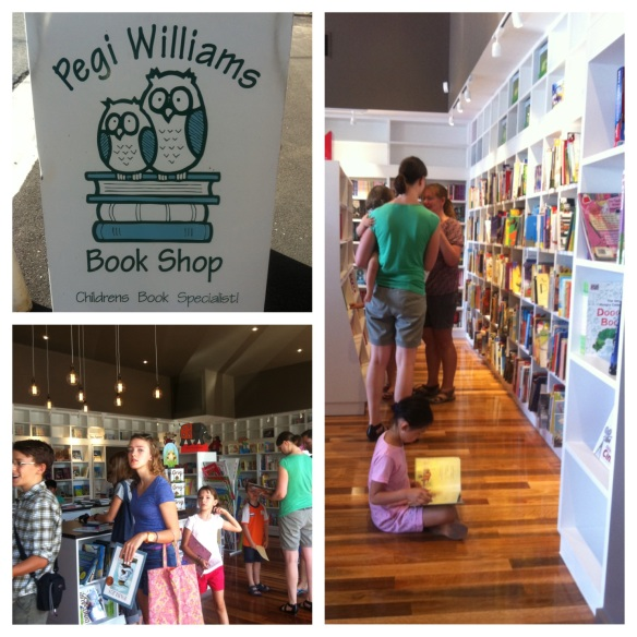 Pegi Williams book shop