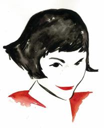 Amelie watercolour
