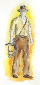 Indy watercolour