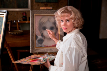 Amy Adams plays Margaret Keane in Big Eyes.