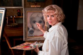 Amy Adams plays Margaret Keane in Big Eyes.