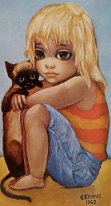Margaret Keane, Little Ones, 1962.