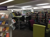 Teen area in Library