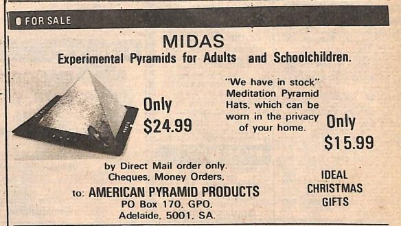 Pyramid hat