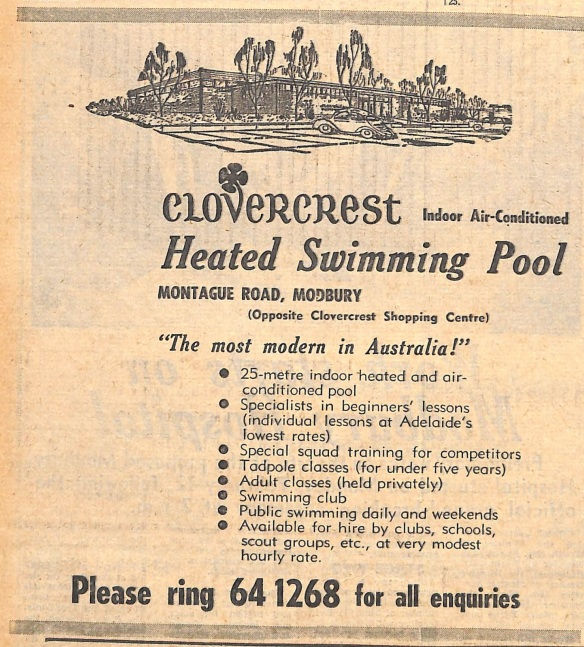 Pool advertisement