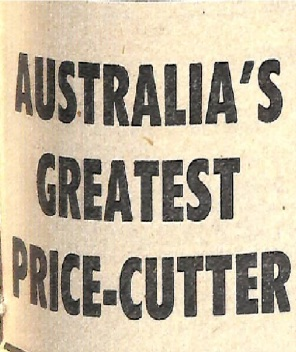 Australia's greatest price cutter
