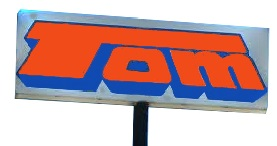 Tom-the-Cheap sign