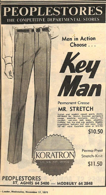 Peopestores Key Man trousers