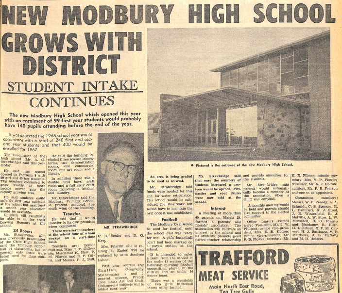 New Modbury High School
